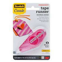 Scotch Patterned Tape Runner, Hearts, Package
