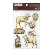 Signature Easter Animal Dimensional Stickers by Recollections
