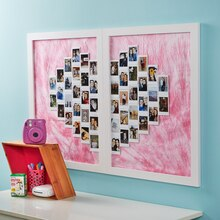 Framed Heart Photo Montage, medium