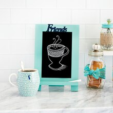 Coffee Friends Easel Chalkboard, medium