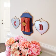 Large Plaque Monogram Trio, medium