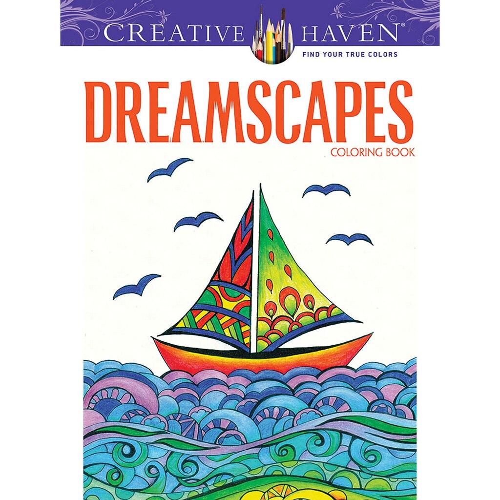 creative haven dreamscapes coloring book - Michaels Coloring Books
