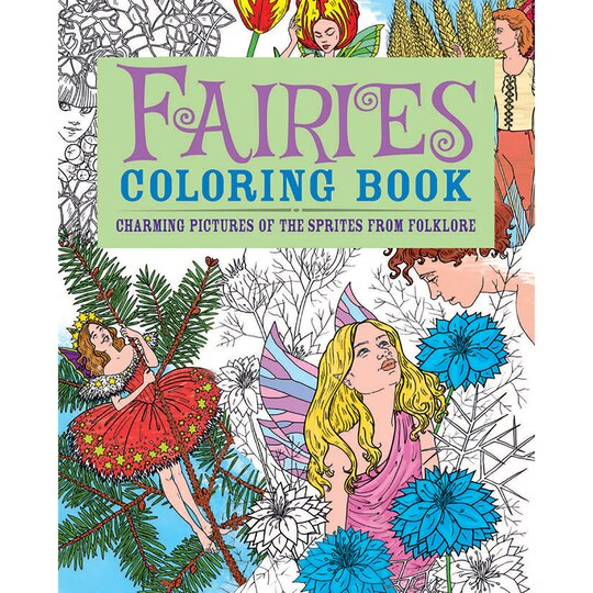 fairies coloring book - Michaels Coloring Books