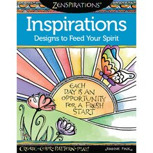 Zenspirations Inspirations Designs to Feed Your Spirit Coloring Book