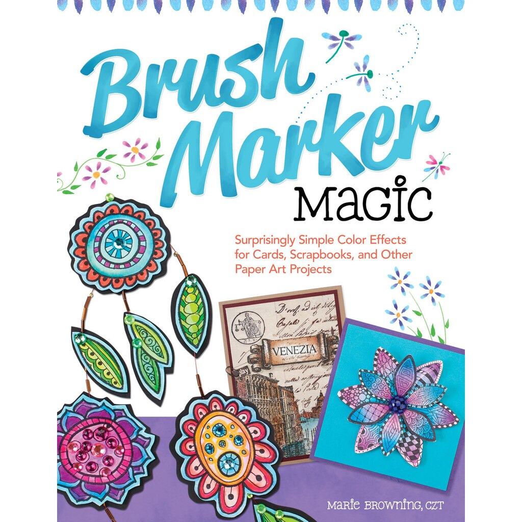 brush marker magic book - Magic Marker Coloring Book