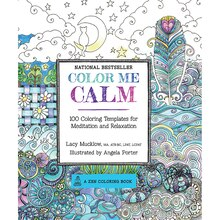 Color Me Calm Zen Coloring Book