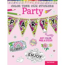 Color Your Own Stickers: Party