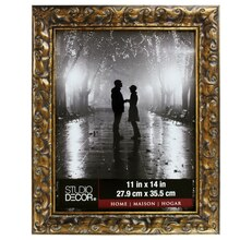 """Bronze Ornate Frame by Studio Decor Home Collection, 11"""" x 14"""""""