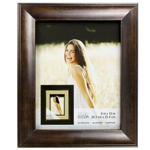 """Accentuate Collection Bronze Reverse Scoop Frame by Studio Decor, 8"""" x 10"""""""