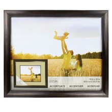 "Accentuate Collection Bronze Reverse Scoop Frame by Studio Decor, 16"" x 20"""