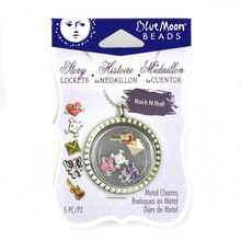 Blue Moon Beads Story Lockets Rock N Roll Charms
