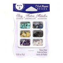 Blue Moon Beads Story Lockets Stone Chips