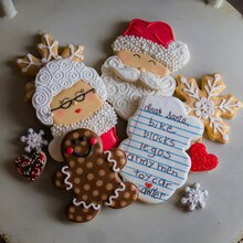 Doughmestic Housewife Holiday Cookies, medium
