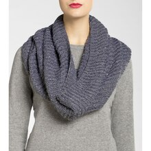 Isaac Mizrahi® CRAFT™  Brioche Knit Cowl, medium