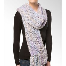 Isaac Mizrahi® CRAFT™ Central Park Super Chunky Crochet Scarf, medium