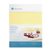 Silhouette Double-Sided Adhesive Sheets