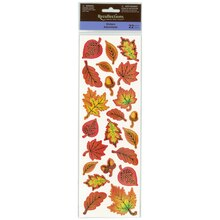 Fall Leaf Assortment Stickers by Recollections