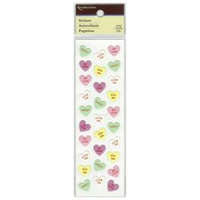 Conversation Hearts Puffy Stickers by Recollections