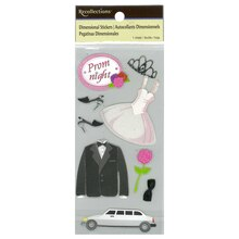 Tween Prom Dimensional Stickers by Recollections
