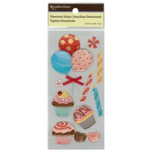Cupcakes Dimensional Stickers by Recollections