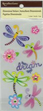 Dimensional Dragonflies Stickers by Recollections