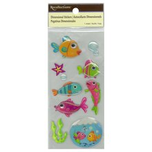 Dimensional Fish Stickers by Recollections
