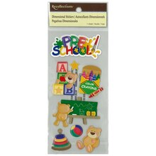 Dimensional Preschool Stickers by Recollections