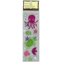Dimensional Sea Creatures Stickers by Recollections Signature