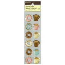 Dimensional Donut Stickers by Recollections