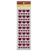 Kids Hearts Hologram Stickers by Recollections