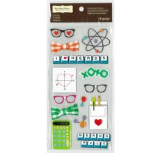 Nerds Dimensional Stickers by Recollections Signature
