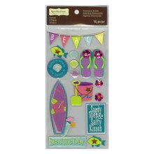Seas In The Day Dimensional Stickers by Recollections Signature