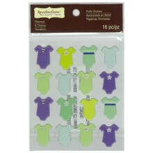 Baby Boy Creeper Puffy Stickers by Recollections Signature