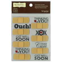 Signature Bandage Repeat Dimensional Stickers by Recollections