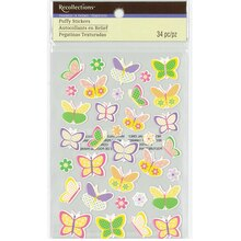 Puffy Butterfly Stickers by Recollections