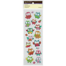 Owl Hologram Stickers by Recollections