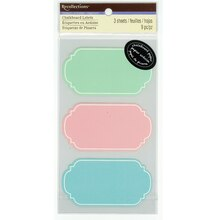 Multicolor Chalkboard Labels by Recollections