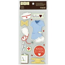 Nurse Dimensional Stickers by Recollections Signature