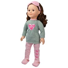 Modern Girls Hearts Pajama Doll Accessory Set by Creatology