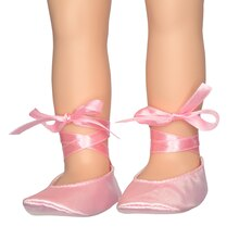 Modern Girls Ballet Slippers by Creatology