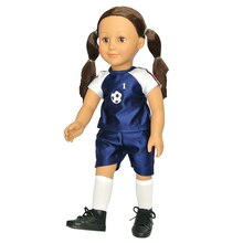 Modern Girls Soccer Doll Accessory Set by Creatology