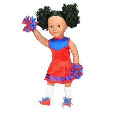 Modern Girls Cheerleader Doll Accessory Set by Creatology