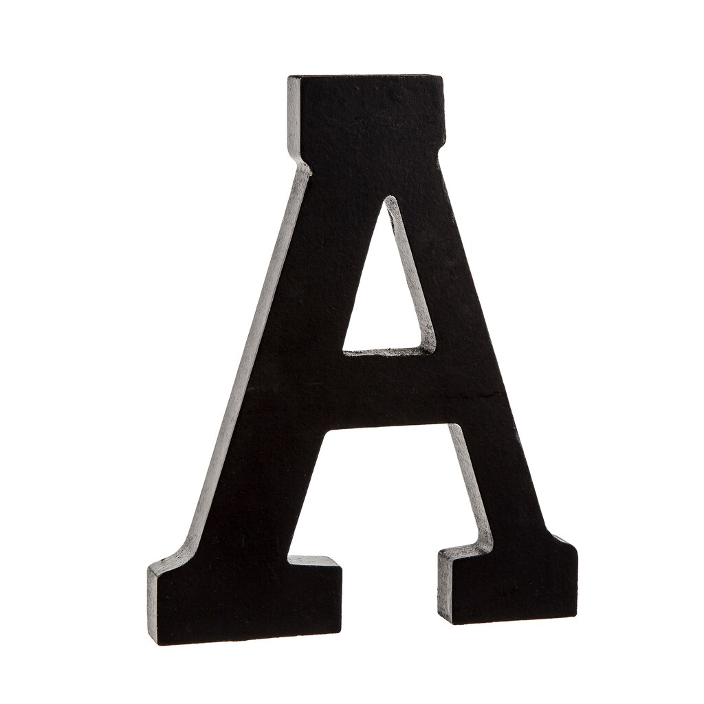 Shop For The 7 Quot Black Wooden Letter By Artminds 174 At Michaels