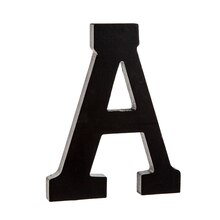 7 black wooden letter by artminds