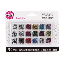 Tulip Glam-It-Up Hot-Fix Glass Crystals, Refill