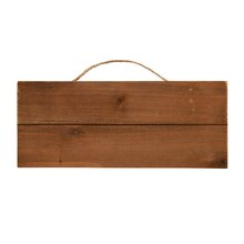 Rectangle Wood Pallet Plaque by ArtMinds