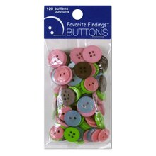 Favorite Findings Buttons, Clean