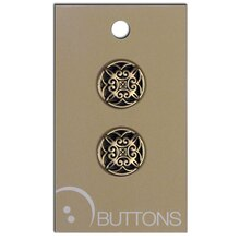 Blumenthal Lansing Small Gold Buttons, 2 Pack