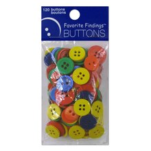 Blumenthal Lansing Favorite Findings Buttons, Primary