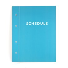 Schedule Planner Book by Recollections